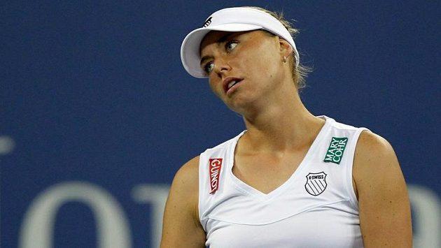 Ruská tenistka Věra Zvonarevová.