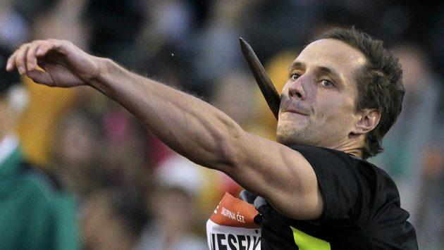 Jeden z českých olympioniků oštěpař Vítězslav Veselý