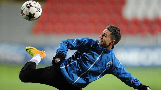 Milan Petržela dal Rostovu jediný gól Plzně.
