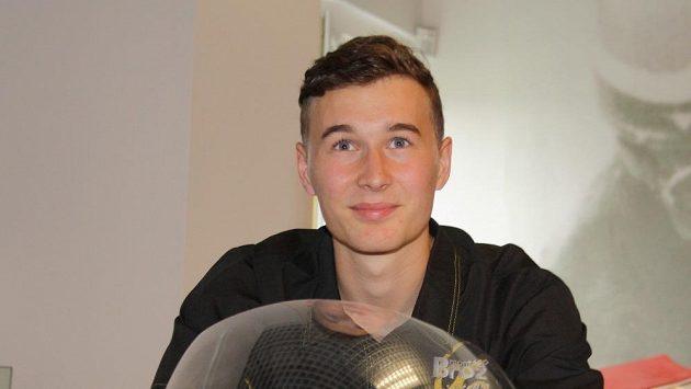Motocyklový závodník Miroslav Popov
