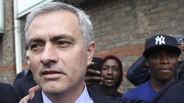 Trenér Manchesteru United José Mourinho