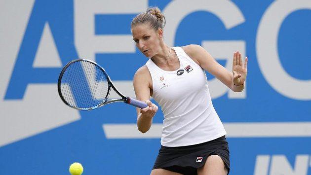 Karolína Plíšková začne ve Wimbledonu už v pondělí.