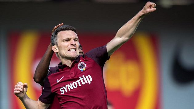 Sparťanský útočník David Lafata vstřelil loni na jaře Jihlavě pět gólů.