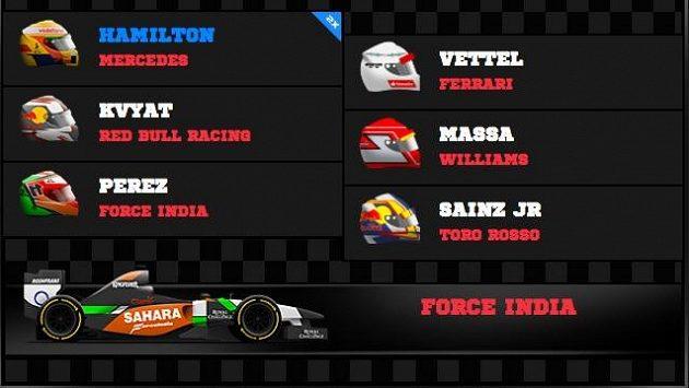 Věříme, že Mercedesy se opět objeví na stupních vítězů.