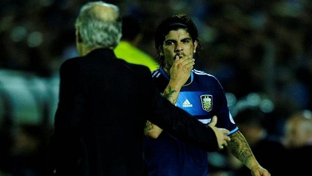Ever Banega má smůlu, do konečné nominace fotbalistů Argentiny na MS se nedostal.