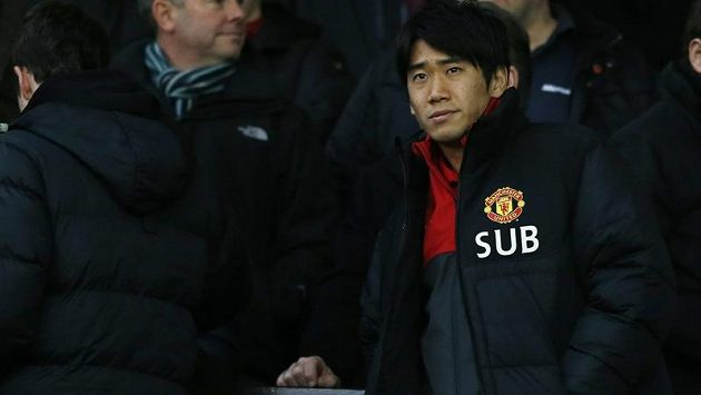Fotbalista Šindži Kagawa z Manchesteru United.