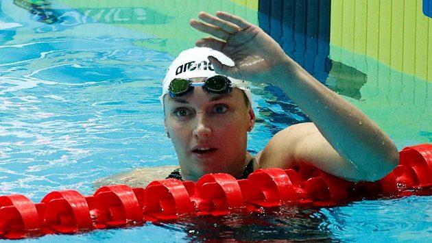 Katinka Hosszúová na archivním snímku.