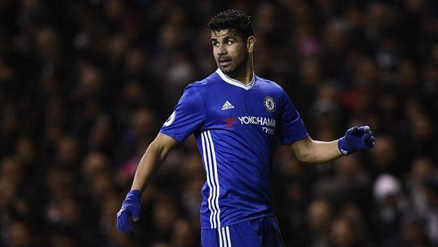 Diego Costa z Chelsea.