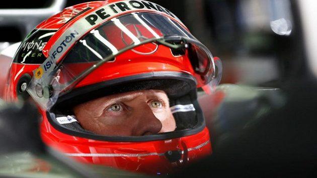 Michael Schumacher na snímku z roku 2012.