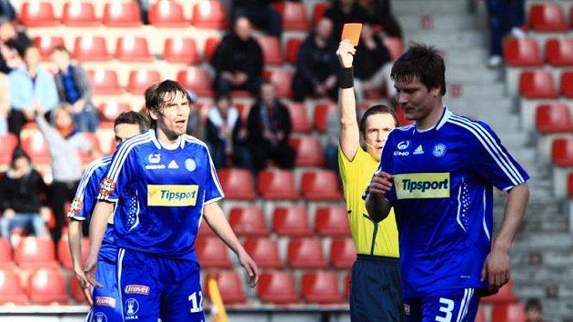 Pavel Dreksa (vpravo) se stěhuje do Baníku Ostrava.