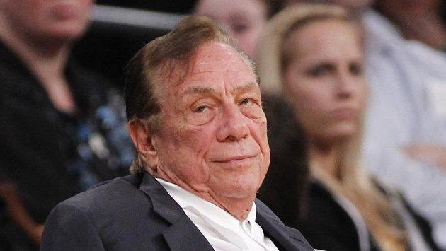 Suspendovaný majitel basketbalistů Los Angeles Clippers Donald Sterling