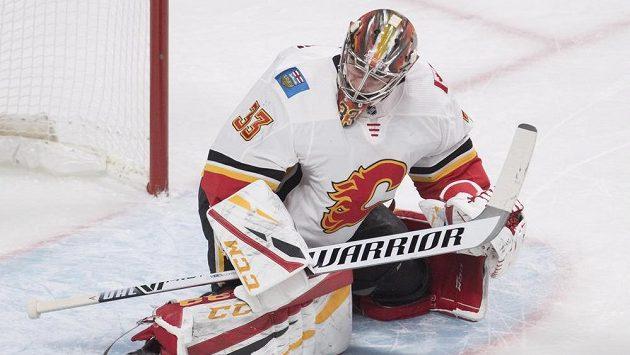 David Rittich je momentálně jediným zdravým českým brankářem v NHL.