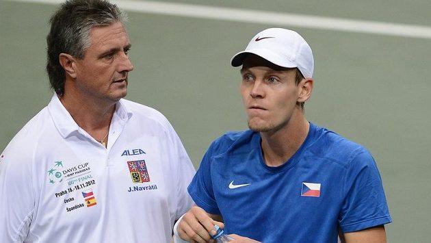 Jaroslav Navrátil Tomáši Berdychovi neskonale věří.