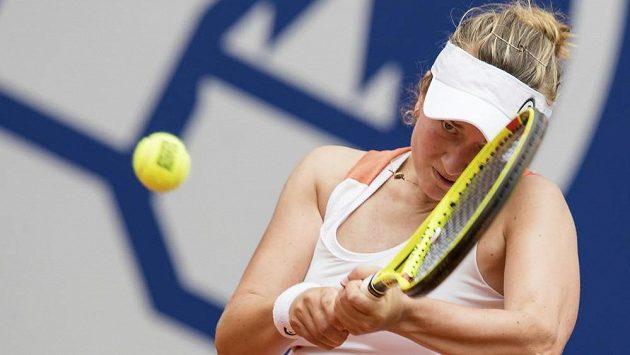 Jednadvacetiletá česká tenistka Barbora Krejčíková si v Norimberku zahraje poprvé semifinále turnaje WTA.