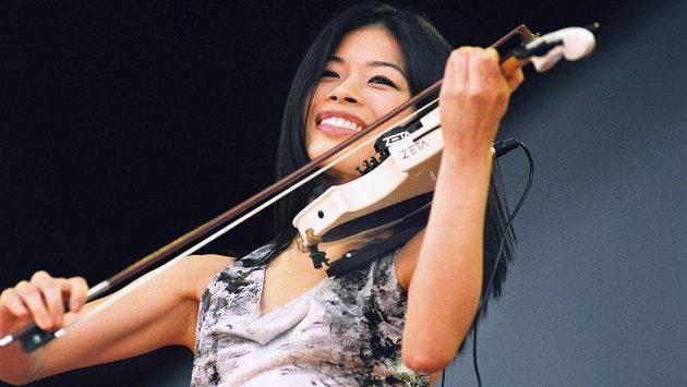 Vanessa Mae.