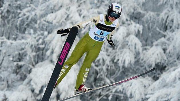 Česká skokanka na lyžích Michaela Doleželová na archivním snímku z MSJ v Liberci.