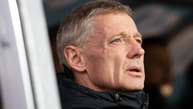 Trenér fotbalové Sparty Praha Zdeněk Ščasný.