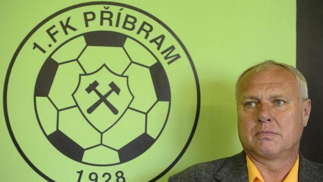 Trenér Pavel Tobiáš je zatím v Příbrami úspěšný.