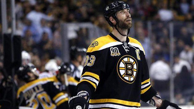 Kapitán Bostonu Zdeno Chára.