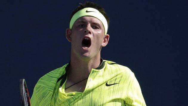 Američan Jared Donaldson vyřadil v prvním kole US Open Belgičana Davida Goffina.