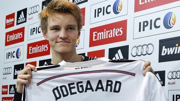 Norský fotbalový talent Martin Ödegaard