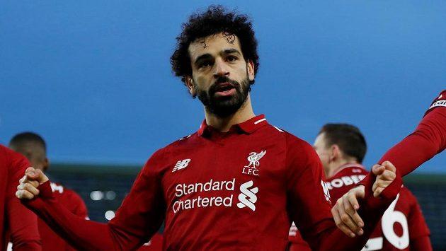 Liverpoolský Mohamed Salah