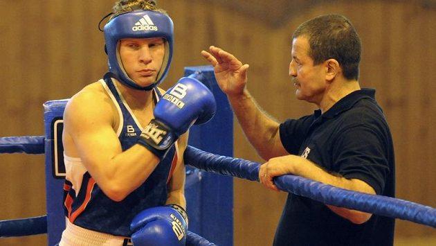 Nejlepší český amatérský boxer Zdeněk Chládek.