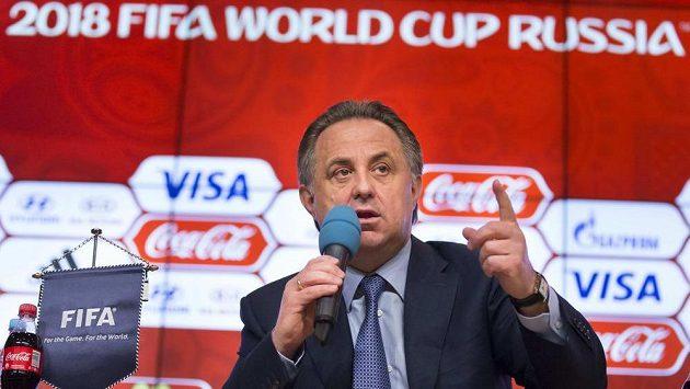 Vitalij Mutko, ruský ministr sportu.