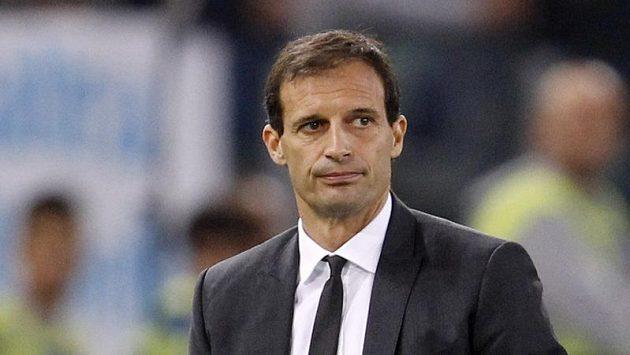 Trenér AC Milán Massimiliano Allegri