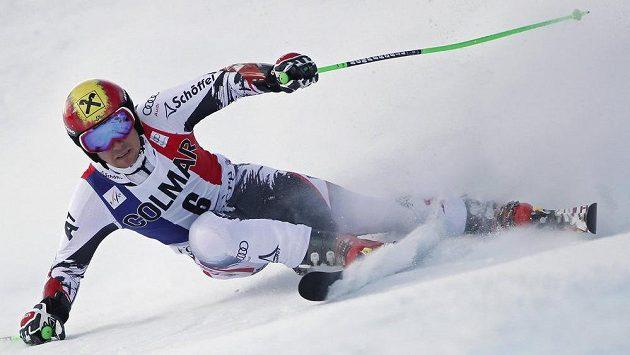 Rakušan Marcel Hirscher, vítěz závodu SP v obřím slalomu ve Val d'Isére.