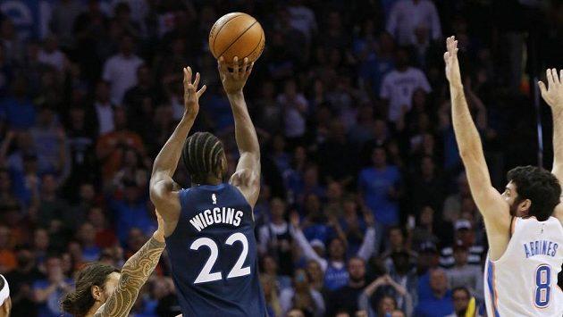 Andrewa Wigginse rozhodl o výhře Minnesoty Timberwolves.