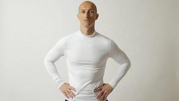 Sportovní funkční triko Under Armour, které je vhodné pro chladnější počasí.