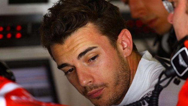Jules Bianchi dva dny před nehodou při GP Japonska.