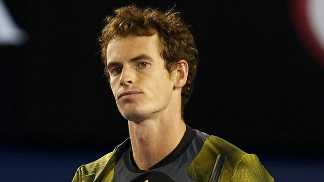 Brit Andy Murray v semifinále Australian Open proti Rogeru Federerovi.