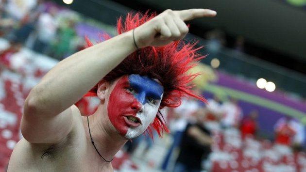Fanoušek české fotbalové reprezentace
