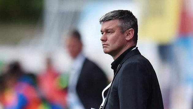 Trenér fotbalistů Liberce David Vavruška.