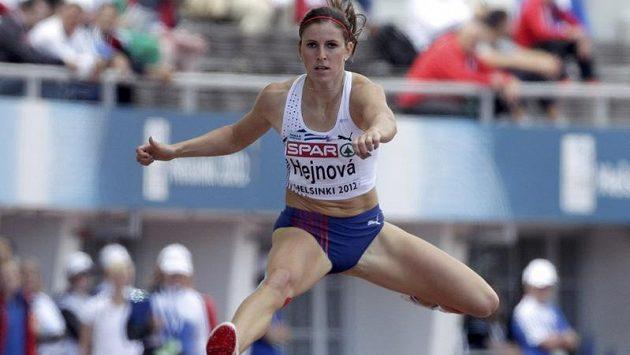 Zuzana Hejnová na atletickém ME v Helsinkách