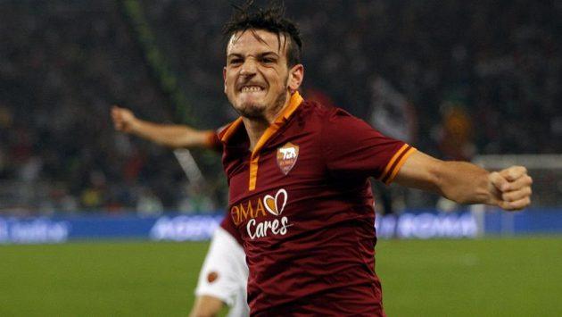 Záložník AS Řím Alessandro Florenzi.