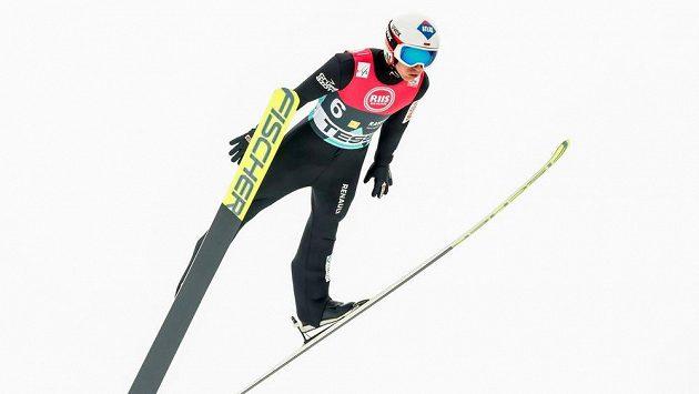 Polský skokan na lyžích Kamil Stoch vyhrál závod SP v Lillehammeru.