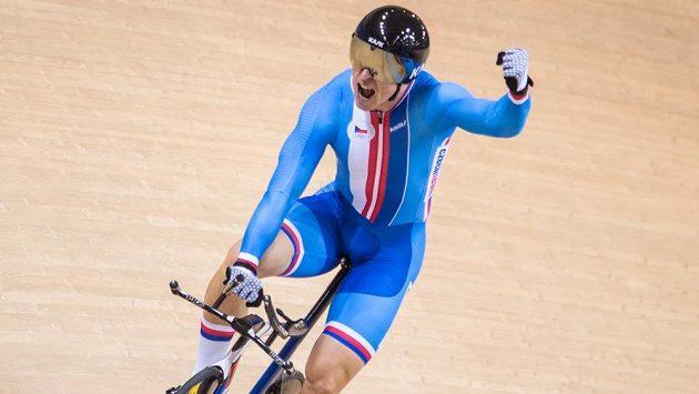 Dráhový cyklista Tomáš Bábek získal na Evropských hrách v Minsku zlato v jízdě na kilometr s pevným startem.