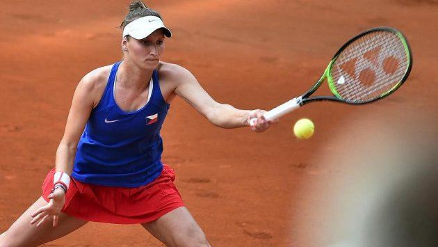 Česká tenistka Markéta Vondroušová se z dvouhry odhlásila