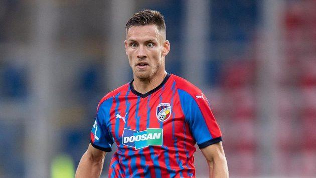 Lukáš Kalvach se proti Plzni parádně trefil. jeho gól ale Viktorii na výhru nestačil. Ilustračn foto.