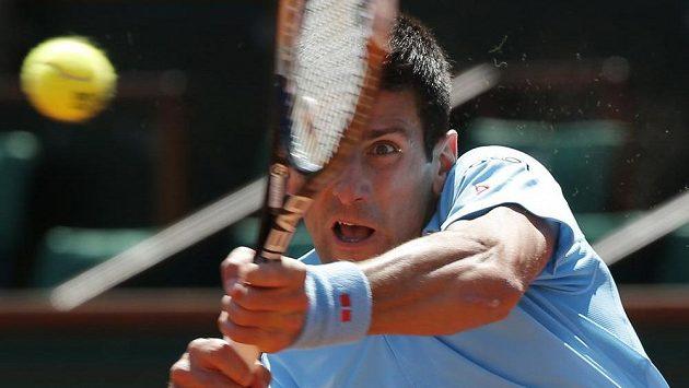 Novak Djokovič v semifinále Roland Garros.