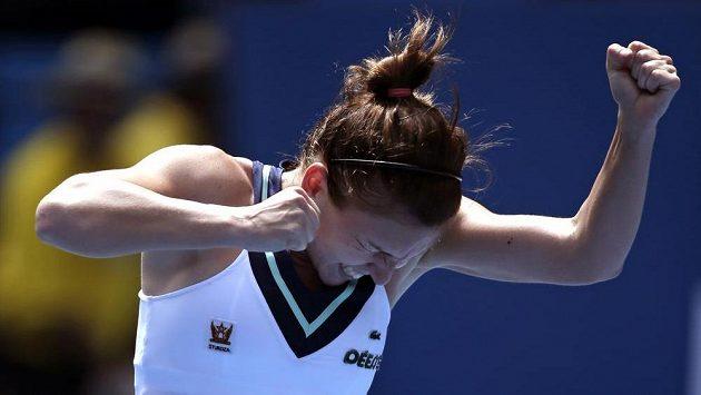 Rumunská tenistka Simona Halepová na Australian Open.