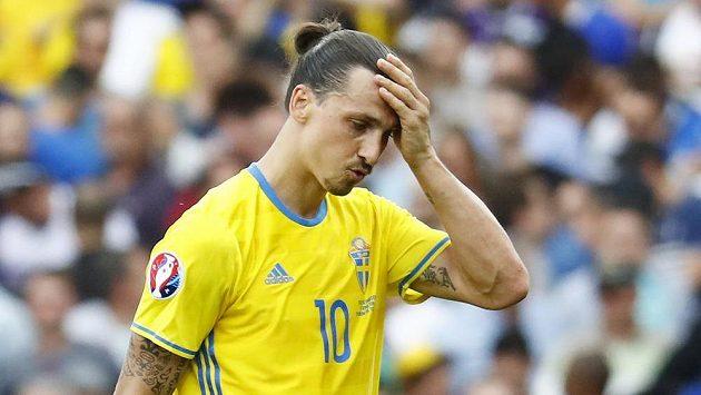 Švéd Zlatan Ibrahimovic po evropském šampionátu ukončí reprezentační kariéru.