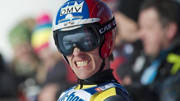 Český skokan na lyžích Jan Matura.