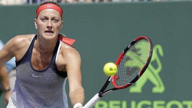 Petra Kvitová postoupila na turnaji ve Stuttgartu do čtvrtfinále.