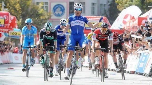 Maximiliano Richeze ve finiši úvodní etapy kolem Turecka