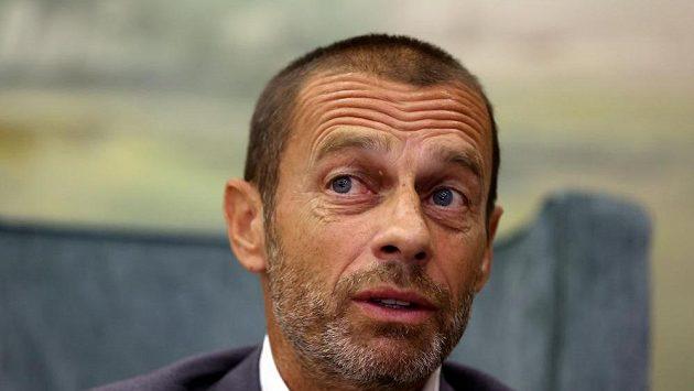 Alexander Čeferin - prezident UEFA.