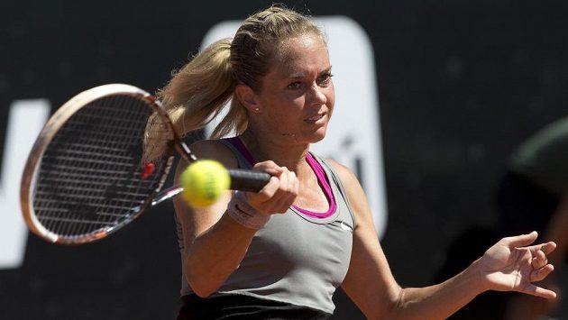Klára Zakopalová ve finále turnaje v Rio de Janeiru.